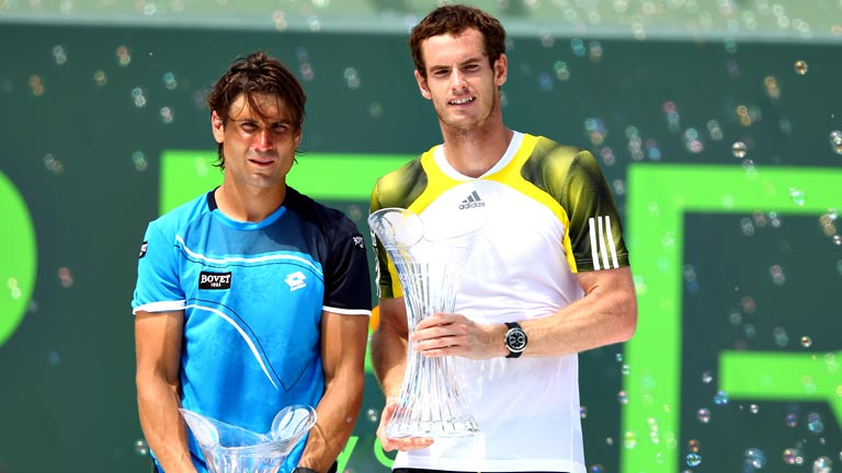 Andy Murray vence a David Ferrer en la final de Miami