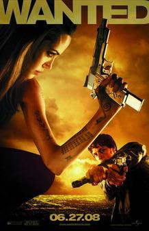 Angelina Jolie en 'Wanted'