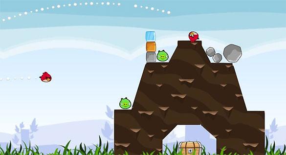 'Angry Birds' se ha convertido en uno de los juegos más populares de las plataformas móviles.