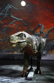 Modelo de dinosaurio
