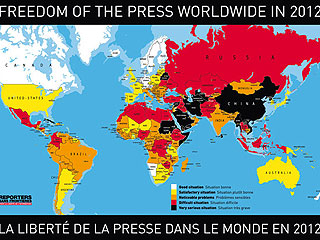 """Ver vídeo  'El año 2011 fue un año """"nefasto"""" para los periodistas, según Reporteros sin Fronteras'"""
