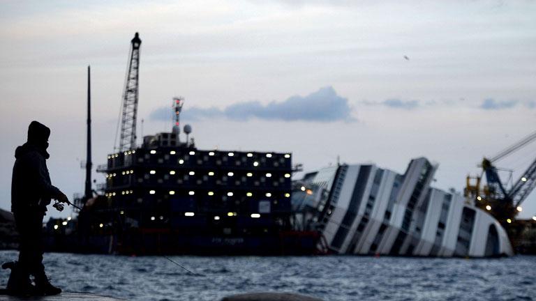 Se cumple un año del naufragio del Costa Concordia