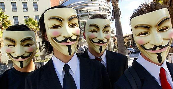 Anonymous anuncia un ataque contra Facebook el 5 de noviembre