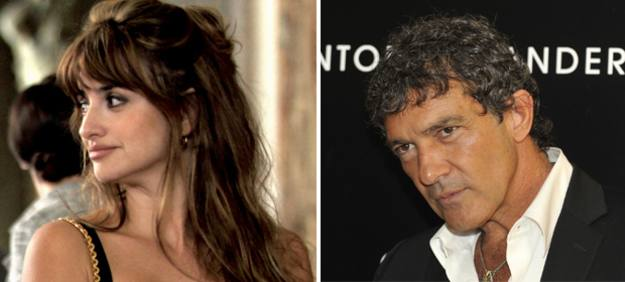 Antonio Banderas y Pen&eacute;lope Cruz coincidir&aacute;n por primera vez en una pel&iacute;cula