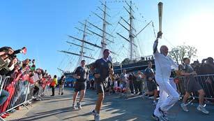Ver vídeo  'La antorcha olímpica inicia desde Greenwich el recorrido por Londres'