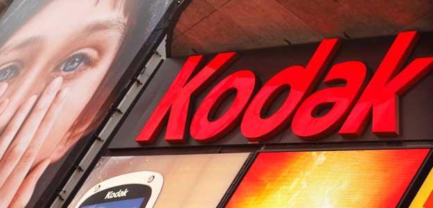 Anuncio de Kodak en Times Square en Nueva York