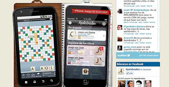 Más de dos millones de usuarios se han descargado Apalabrados en sus dispositivos móviles