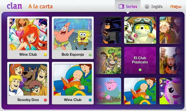 Aplicación Clan A la Carta: todas las series en tu tableta