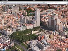 Aplicación de Mapas del iOS 6