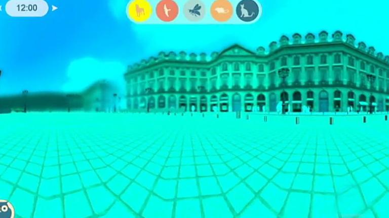 Una aplicación virtual simula la visión de algunos animales