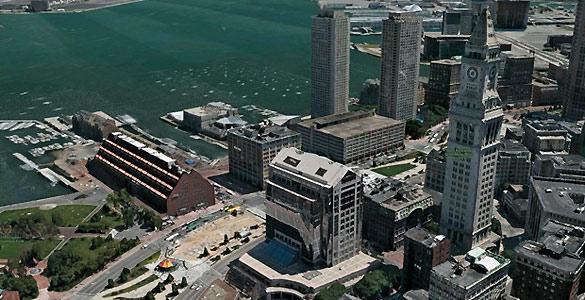 La tecnología de C3, empresa adquirida por Apple, permite crear mapas 3-D a partir de imágenes tomadas desde aviones volando a baja altitud.