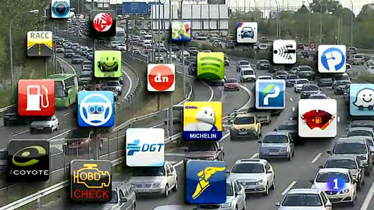 Las apps ejercen de copiloto para el nuevo conductor tecnológico