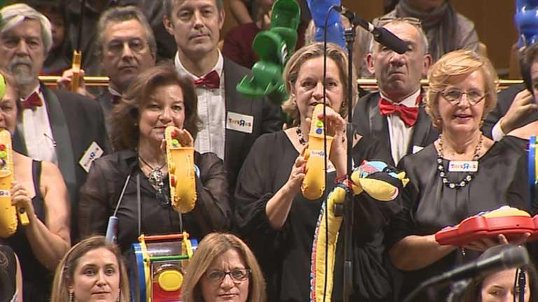 Los juguetes se convierten en protagonistas del Auditorio Nacional