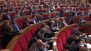 Ver vídeo  'Aprobado en el parlamento catalán el copago por receta médica y la tasa turística'