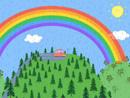 Imagen del  vídeo de Peppa Pig titulado EL ARCOIRIS