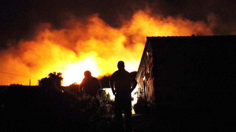 El fuego afecta a Garajonay y hay más de 600 desalojados en la isla