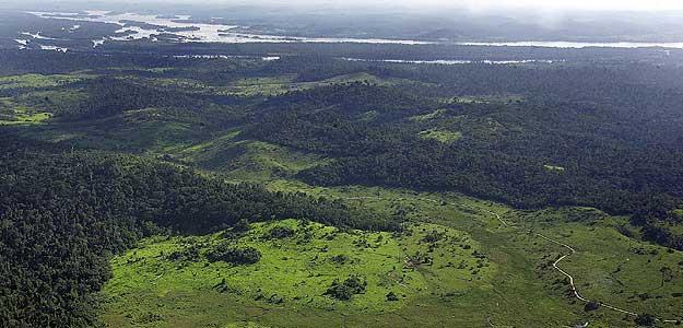 Área de bosque en torno al río Xingú, donde Brasil ha autorizado construir la tercera presa más grande del mundo.