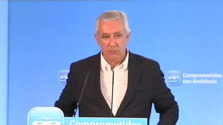 Javier Arenas, presidente del PP andaluz, no se presentar&aacute; a la reelecci&oacute;n