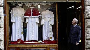 El armario del próximo papa