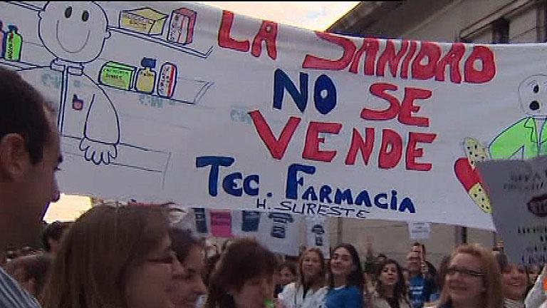 Arranca en Madrid la 'marea blanca' en defensa de la sanidad pública