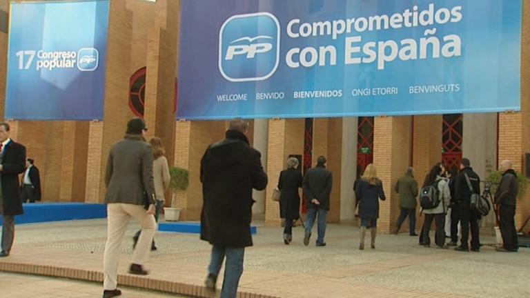 Arranca en Sevilla el 17 Congreso del Partido Popular