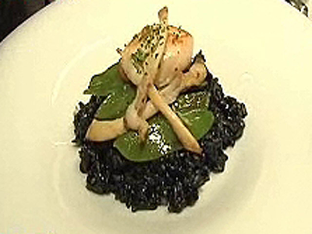 Espa&ntilde;a Directo - Arroz negro con navajas