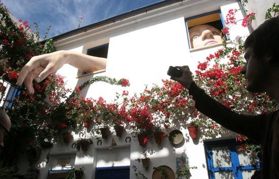 Los patios de Córdoba se llenan de obras de arte