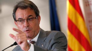 Ver vídeo  'Artur Mas descontento con la reunión'