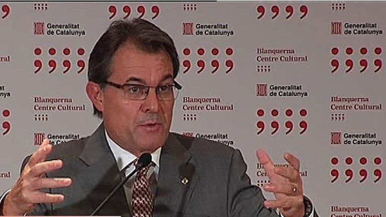 Artur Mas: &quot;Rajoy me ha dicho con toda claridad que no ve recorrido en el pacto fiscal&quot;
