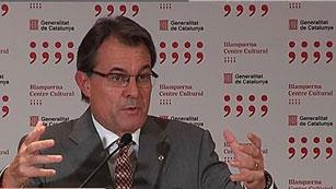 """Ver vídeo  'Artur Mas: """"Rajoy me ha dicho con toda claridad que no ve recorrido en el pacto fiscal""""'"""
