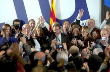 ARTUR MAS VENCE EN LAS ELECCIONES CATALANAS