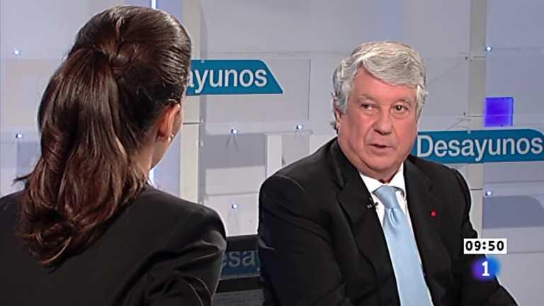 Los desayunos de TVE - Arturo Fernández,  vicepresidente de la CEOE y presidente de la patronal madrileña CEIM