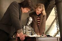 Asa Butterfield y Chloe Moretz en 'La invención de Hugo'