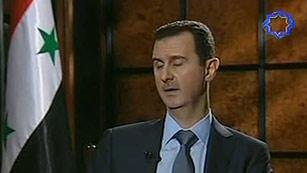Ver vídeo  'Asad descarta una solución externa al conflicto de Siria'