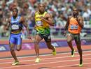 Asafa Powell deja clara su superioridad ante Ramon Gittens y Churandy Martina