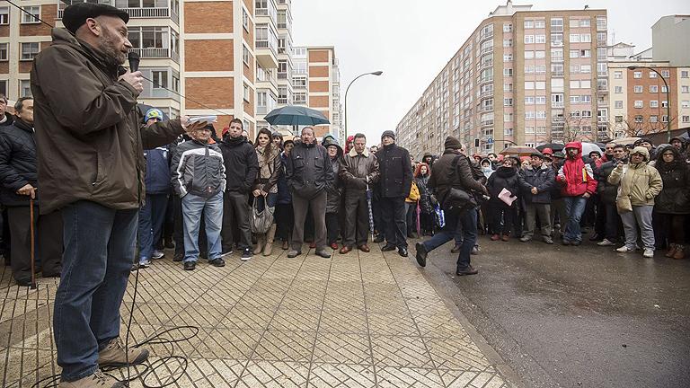 Los vecinos de Burgos seguiran con acciones a pesar del anuncio de paralización de las obras