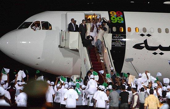 El terrorista de Lockerbie llega a Libia tras ser excarcelado en Escocia