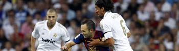 Así jugaron el Real Madrid y el FC Barcelona