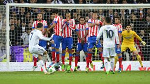 Así jugó el Atlético de Madrid y el Real Madrid en la final