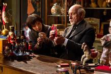 Assa Butterfield y Ben Kinsgley en 'La invención de Hugo', de Martin Scorsese