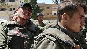 Ver vídeo  'Atacan con explosivos el convoy del jefe de los observadores de la ONU en Siria'