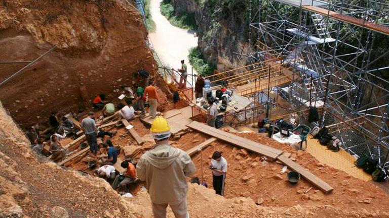 Atapuerca ha proporcionado a la Antropología más fósiles humanos que ningún otro emplazamiento en el mundo