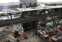 Atentado en el aparcamiento de la Terminal 4 de Barajas