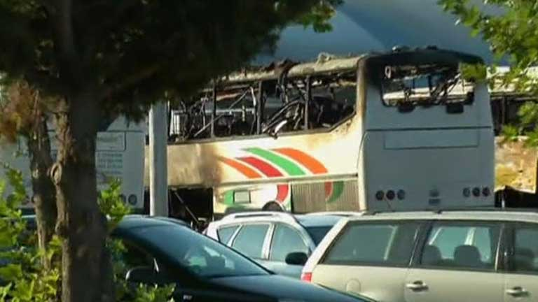 Seis muertos en un atentado en Bulgaria contra un autobús de turistas israelíes