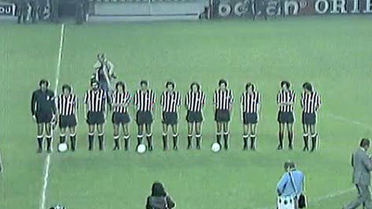 El Athletic no pudo hacerse con la UEFA del 77