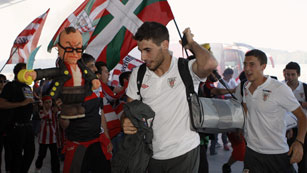 Ver vídeo  'El Athletic ya está en Madrid'