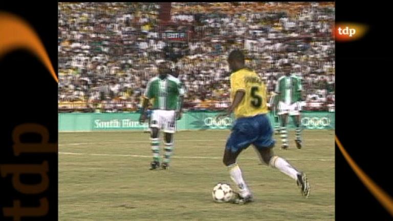 Londres en juego - Atlanta 1996. Fútbol. Brasil - Nigeria