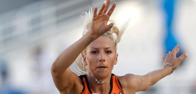 La atleta griega, Paraskevi Papachristou.