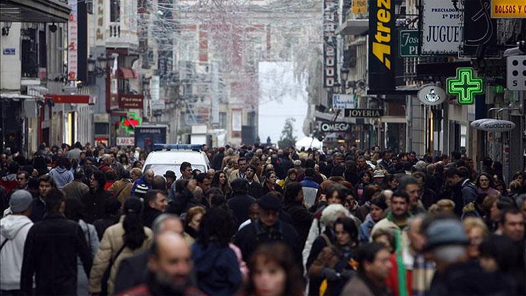 La población en España crece un 14% en diez años