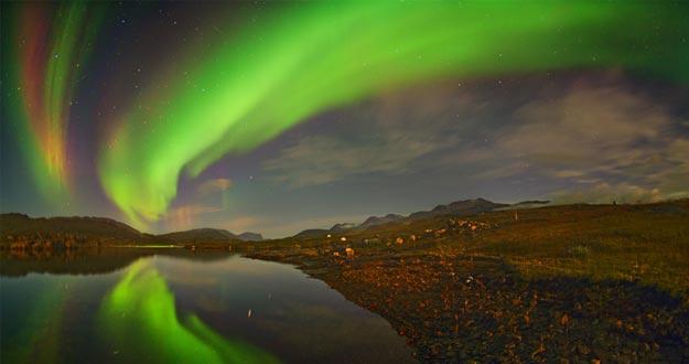 Las auroras boreales de agosto desde Groenlandia e Islandia en directo 1408439047929